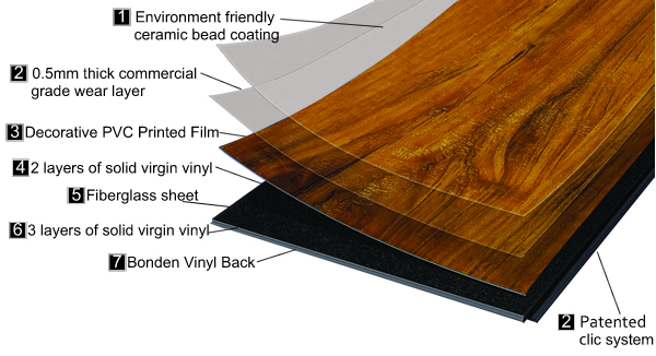 Allure Locking Resilient Flooring Vinyl Flooring